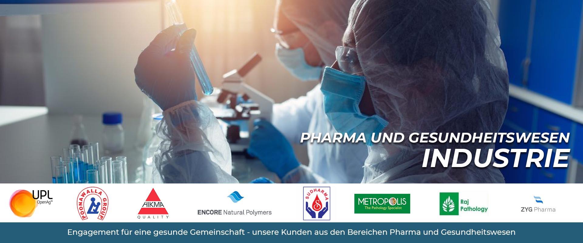 Chemie, Pharmazie und Gesundheitswesen